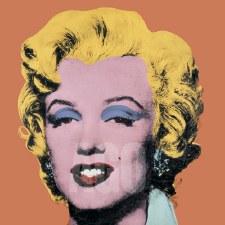 """Andy Warhol: Marilyn Shot Orange 12"""" x 12"""""""
