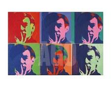 """Andy Warhol: Six Self Portraits 11"""" x 14"""""""