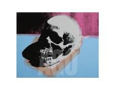 "Andy Warhol: Skull 1976 11"" x 14"""