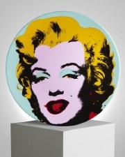 """Andy Warhol x Ligne Blanche: """"Blue Marilyn"""""""