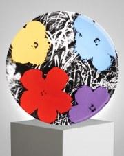 "Andy Warhol x Ligne Blanche: ""Flowers"" Purple"
