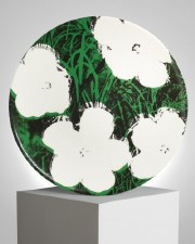 """Andy Warhol x Ligne Blanche: """" Flowers"""" White"""