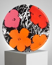 """Andy Warhol x Ligne Blanche: """"Flowers"""" Red/Pink"""
