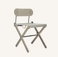 Folding Chair - Dark Ash