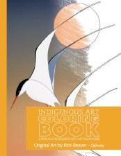 Indigenous Art Colouring Book - Rick Beaver
