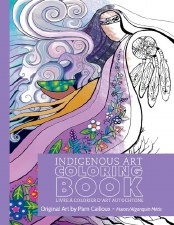 Indigenous Art Colouring Book - Pam Cailloux