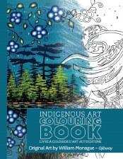 Indigenous Art Colouring Book - William Monague
