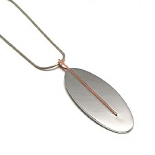 Necklace -  Large Oval - 60mm