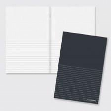 'In the Margin' Half-Lined Notebook