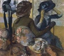 "Edgar Degas:Dans la chapellerie - 11"" x 14"""