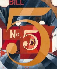 """Charles Demuth: I Saw the Figure 5 In Gold - 11"""" x 14"""""""