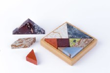 D.A.R. Projects Semi Precious Stone Tangram