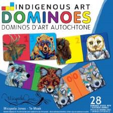Micqaela Jones: Indigenous Art Dominoes