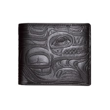 "Paul Windsor: ""Spirit Wolf"" Embossed Wallet"