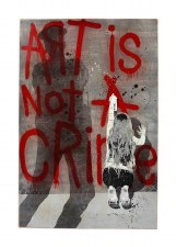 Enjoy Denial: Art Is Not A Crime