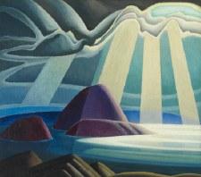 "Lawren S. Harris: Lake Superior, 1923 - 22"" x 28"""