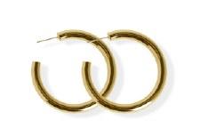 jj + rr Classic Bold Hoop Earring - Gold