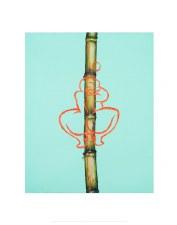 Leasho Johnson: Sweet Sugarcane (Female Figure) - 11X14