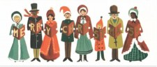 Carolers - Holiday Cards