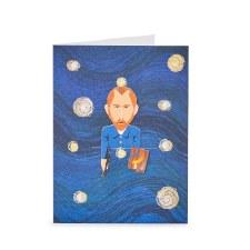 Noodoll Impressionist Bookmark Card