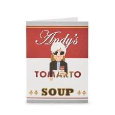 Noodoll Pop Art Bookmark Card