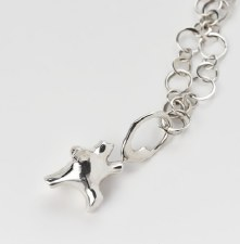 George Hope: Dancing Bear Necklace 30""