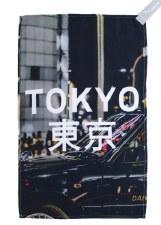Maruju Tokyo Traffic Tea Towel