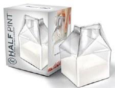 Half Pint: Glass Creamer Carton