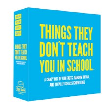 Things They Don´t Teach You in School - Party Trivia Game