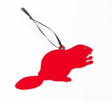 The Whigby Beaver Ornament