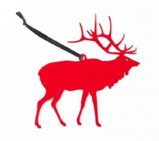 The Whigby Elk Ornament