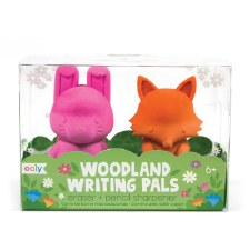 OOLY: Woodland Writing Pals Erasers and Pencil Sharpeners