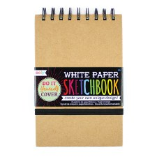 OOLY: DIY Cover Sketchbook - Small White Paper