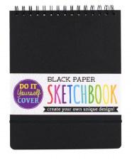 OOLY: DIY Sketchbook - Large Black Paper