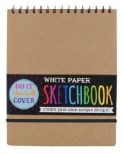 OOLY: DIY Sketchbook - Large White Paper