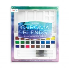 ooly:: Chroma Blends Travel Watercolour Palette