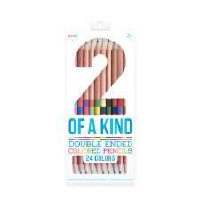 2 of a Kind Colour Pencils - Set of 12