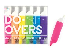 ooly: Do-Overs Erasable Highlighters