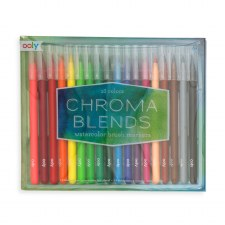 ooly: Chroma Blends Watercolour Brush Markers