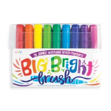 ooly: Big Bright Brush Markers