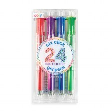ooly: Six Click 24 Colours Gel Pens