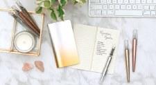 Modern Script Fountain Pens + Journal