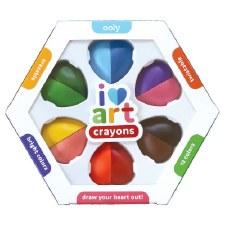 ooly: I Heart Art Erasable Crayons
