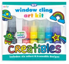 ooly: Creatibles DIY Window Cling Art Kit