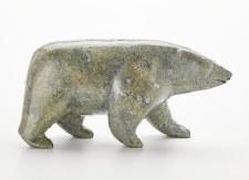 Sculpture by Noah Jaw: `Bear Walking`