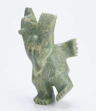 Sculpture by Abraham Simonie: 'Dancing Bear'