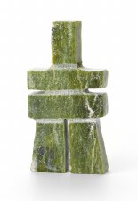 """Sculpture By A. Ipedie: """"Inukshuk"""""""