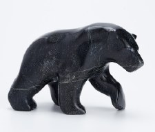 Sculpture by Tony Oqutaq: 'Walking Bear'