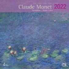 Claude Monet: Nympheas-Water Lilies 2022 Wall Calendar