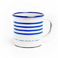 Picasso Quote and Stripes: Mug